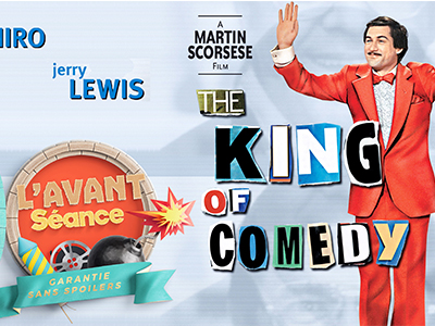 L'Avant séance #2 - The king of comedy / La valse des pantins