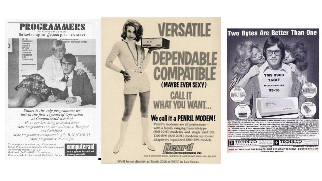 3 publicités sexistes datant des années 1980
