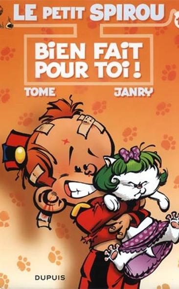 Le Petit Spirou – Bien fait pour toi ! de Tome & Janry